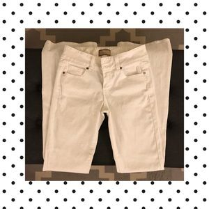 Paige HH Boot white jeans size 26